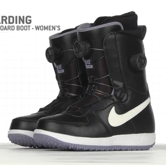 0bad018a44 Nike Women s Zoom Force 1 X Boa Snowboarding Boots